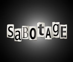 Sabotage is rife in UK Business
