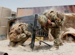 2 para using grenade launcher